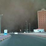 عواصف الكويت الترابية 4