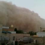 عواصف الكويت الغبارية 25 مارس