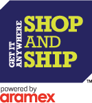 Shop and Ship logo